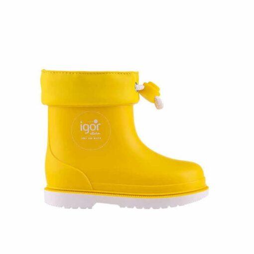 Igor Γαλότσες Splash Nautico Yellow