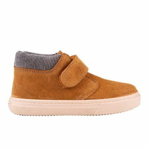 Δερμάτινα παιδικά παπούτσια Igor Tui Fieltro Mustard