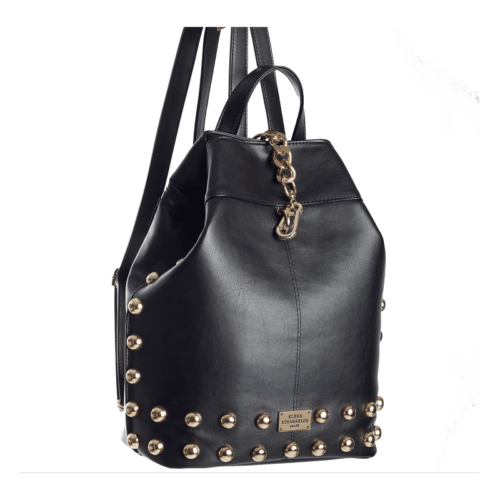 Elena Athanasiou Black n' Metal Backpack - Black