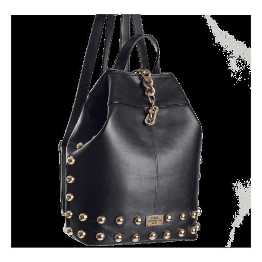 Elena Athanasiou Black n' Metal Backpack - Black
