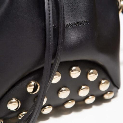 Elena Athanasiou Pouch Bag Fresh Black