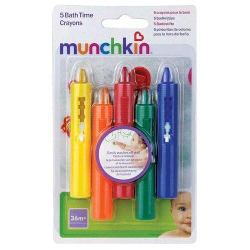 Munchkin Χρωματιστά Μολύβια Μπάνιου