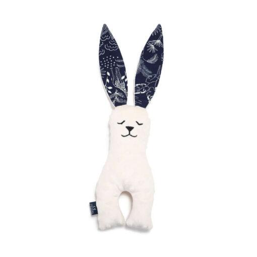 La Millou Small Bunny Μαξιλάρι Navy Jungle Ecru