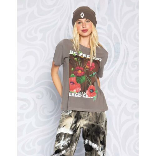 Peace & Chaos Be present t-shirt