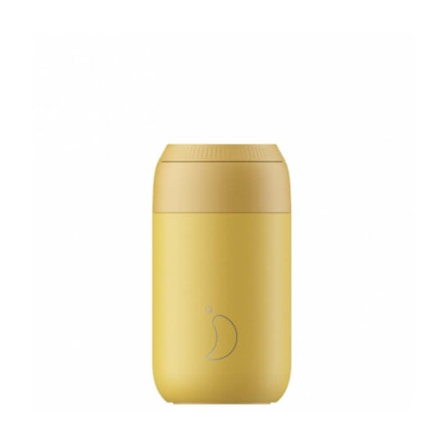 Chilly's Series 2 Coffee Cup 340ml Pollen Yellow