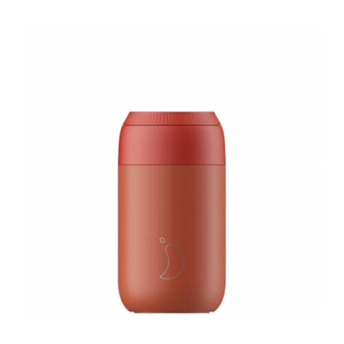 Chilly's Series 2 Coffee Cup 340ml Maple Red